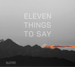 11thingstosay
